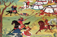 The Relationship between King Gesar and Anye Machen