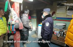 Tibet police facilitate internet connection for local students to take online courses