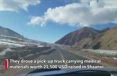 A race against time- Driving 5,000 km in 5 days to send medical supplies to Tibet