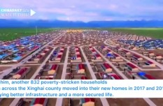 Villagers build new life after relocation