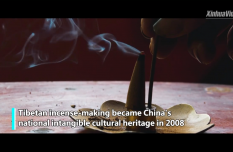Traditional incense-making helps Tibetan villagers live better life