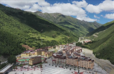 Impoverished villagers enjoy new life in resettlement site in Gyanmda, China's Tibet