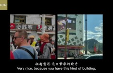 Into Tibet with international vloggers Daniel and Noel