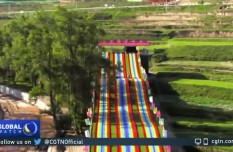 Gansu Tibetan village ends poverty by developing tourism - CGTN1.mp4