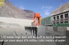 Major hydropower station begins water storage in Tibet