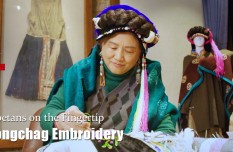 Tibetans on the Fingertip   Rongchag Embroidery