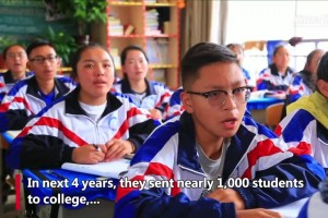 Teacher couple from east China dedicated to education in Tibet for years