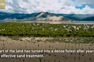 Into Tibet 2020: Sand dunes transformation