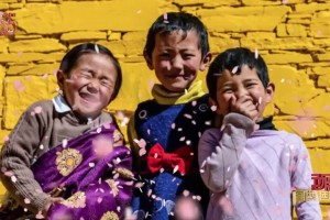 Happy Lives in Tibet