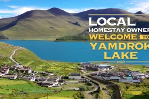 Local homestay owner: Welcome to Yamdrok Lake, Tibet