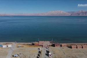 Yak Video | Stunning autumn scenery of Pangong Lake in China's Tibet