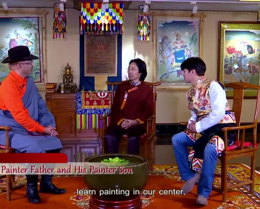 A Painter Father and His Painter Son