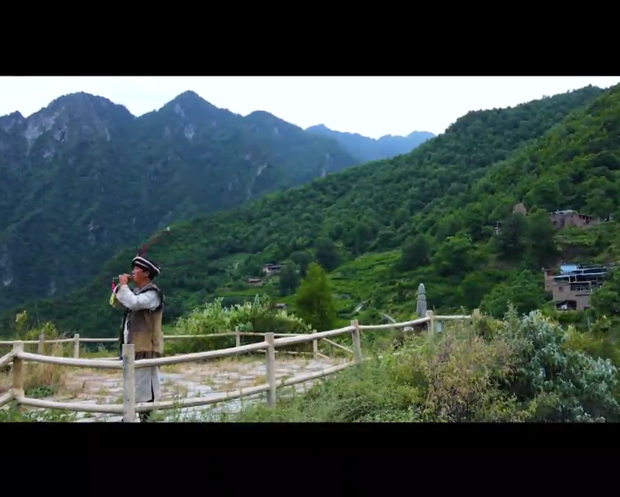 A Folk Artist in Maoxian County Carries Forward the Ancient Qiang Flute