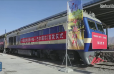 New China-Europe freight train route from Qinghai to Russia launched