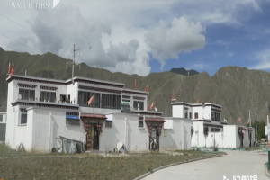 Tibetan poverty relief village resettles hundreds