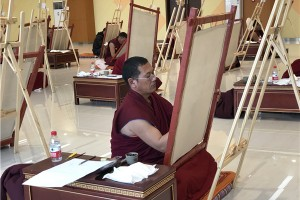 How to Draw a Standard Thangka