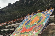 Reporter's diary: the Shoton Festival in Lhasa