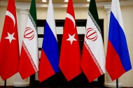 Russia, Iran and Turkey to discuss Syria's Idlib at Monday summit