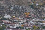 Giant thangka exhibited in Tibet to mark monastery anniversary