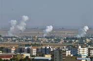 Erdogan says Turkish forces to push 30-35 km into Syrian territory