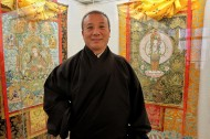 Feature: Noted thangka painter from China aims to bring peace to world in artistic way