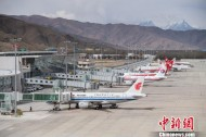 New airport apron goes into operation in Tibet
