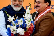 India's main ruling party BJP elects new president