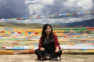 Student seeks to alter public view of blind people in Tibet