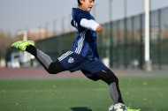 Feature: Tibetan girl's thirst for football undimmed by pandemic