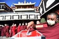 Buddhist monasteries relieve stress, grief caused by pandemic