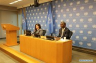 UN General Assembly president asks for respect for int'l law