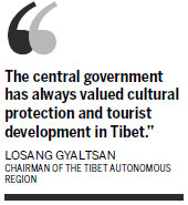 Tibetan culture a strong brand with tourists