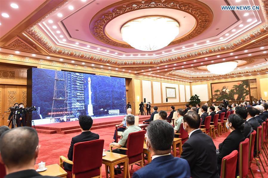 CHINA-BEIJING-BDS-3-COMPLETION, COMMISSIONING CEREMONY (CN)