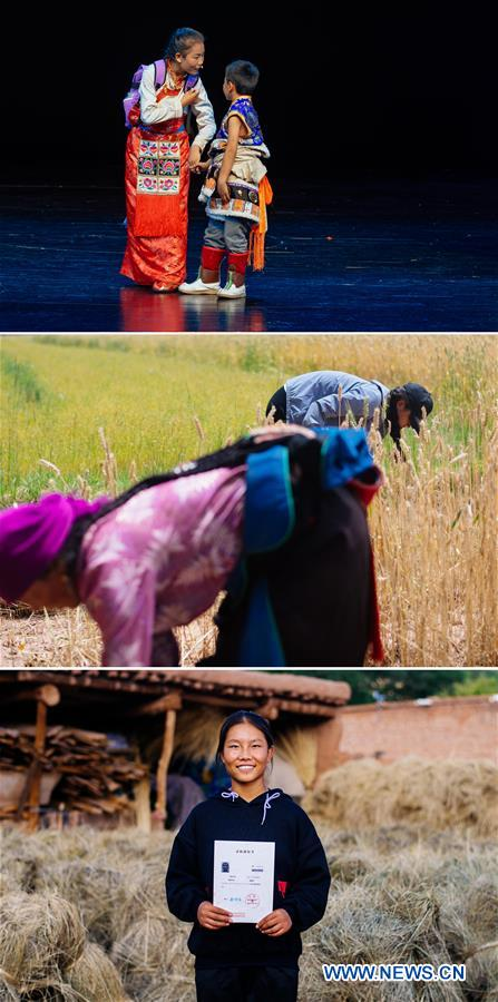 CHINA-QINGHAI-ART-DANCING-RURAL EDUCATION (CN)