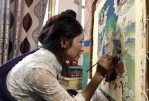 Thangka masters modernize, revitalize traditional art form