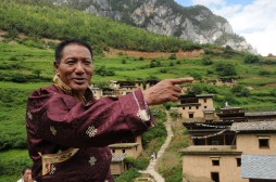 Many hope to find way to Shangri-La, Sonam Dondrup builds it
