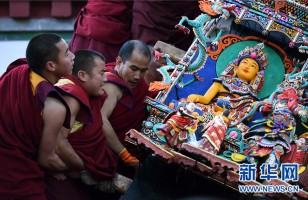 Buddhist monastery in NW China cancels festival gathering amid epidemic