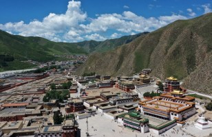 Tibetan Buddhist monastery completes first large-scale renovation