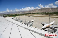 T3 terminal of Gonggar Airport in Lhasa completed