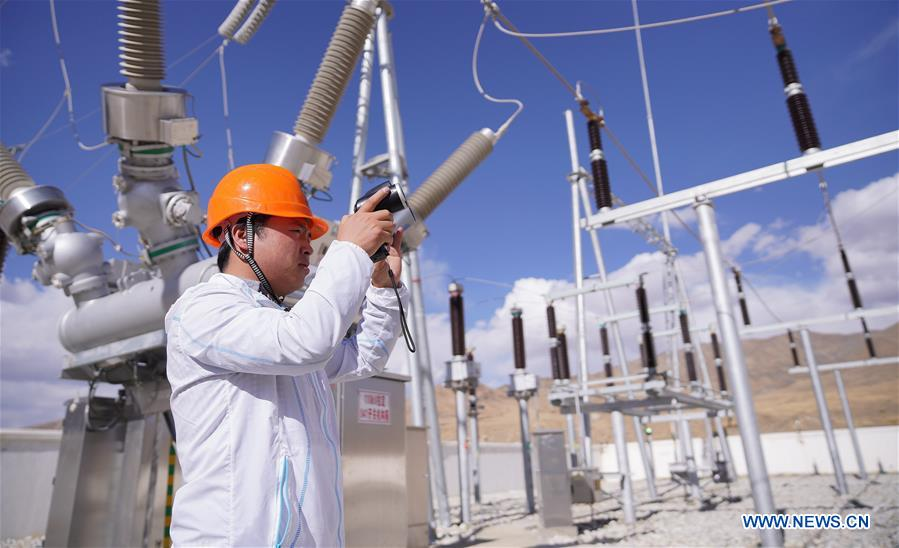 2019 witnesses accelerated reconstruction of rural power grid in Tibet