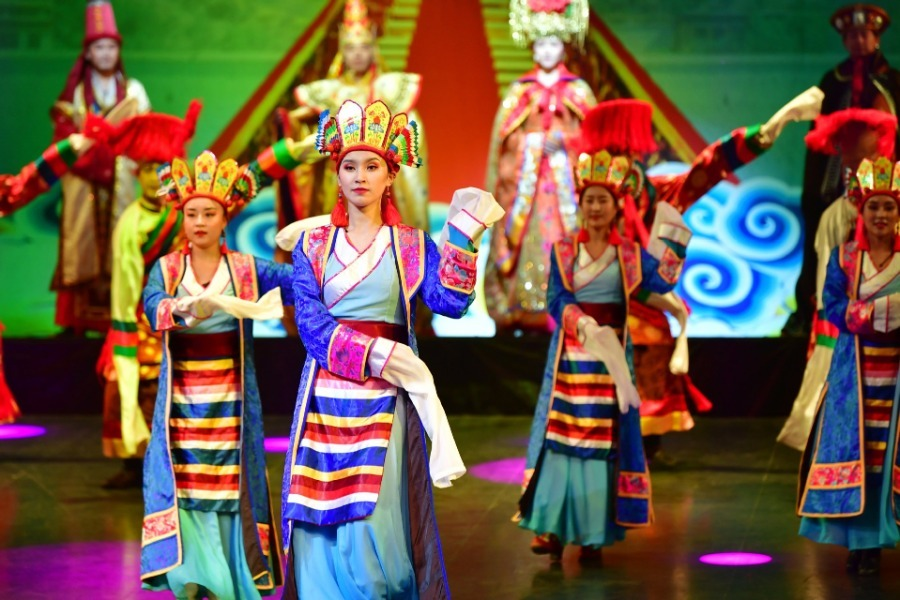 Traditional Tibetan musical resumes public performance