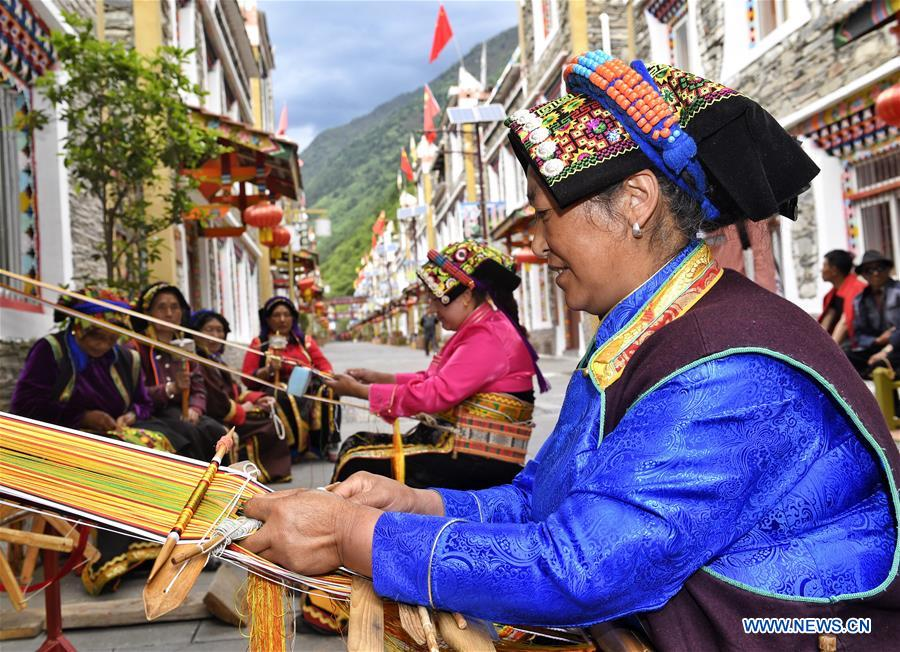 Ethnic culture thrives in Aba Tibetan and Qiang Autonomous Prefecture, SW China (I)