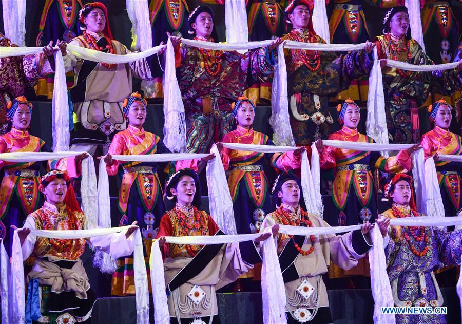 Gala celebrates 70th anniversary of liberation of Qamdo