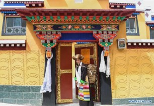 Housing conditions improved in Shannan, southwest China's Tibet