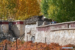 Scenery in Doilungdeqen of Lhasa, China's Tibet