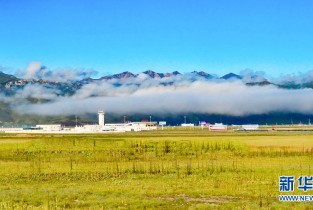 Autumn scenery of Golog, Qinghai