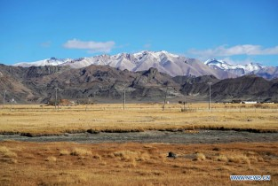 Scenery of Burang County in Ngari Prefecture, Tibet (I)