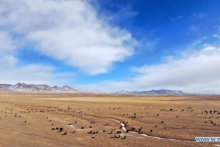 Scenery of Qilian County in Qinghai (I)