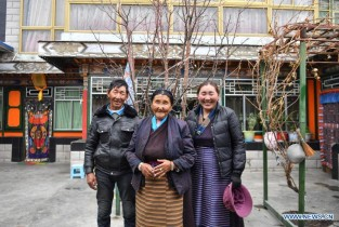 Former serf experiences great changes in her life in Tibet