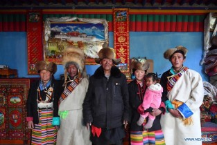 Tibetan people embrace new life after democratic reform